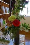 4月 受付の花