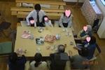 昼食、交わり会〜カメラ目線