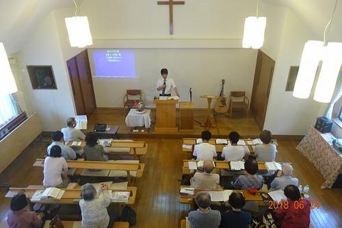 6月24日 礼拝
