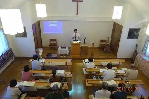 8月第4週礼拝