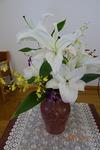 10月 講壇の花
