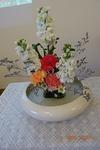クリスマス 講壇の花