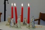 クリスマス 燭台