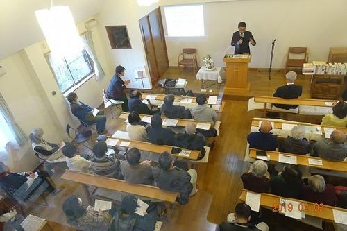 午後から「2.11信教の自由の日集会」