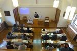 2月10日 礼拝後、教会総会