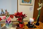 2月玄関の花・右側