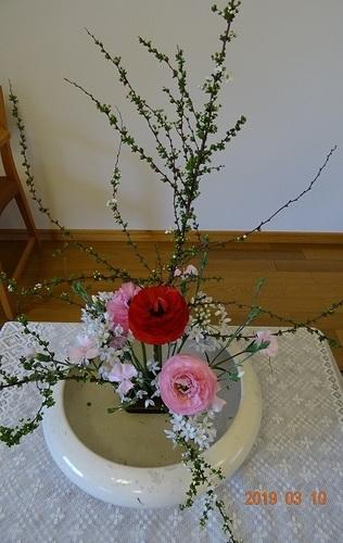 第二週 講壇の花
