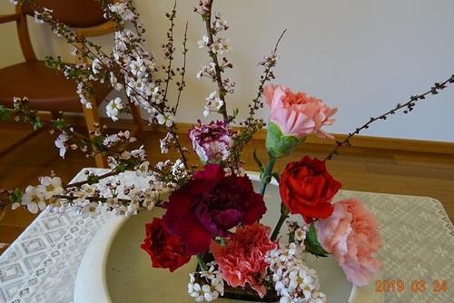 3月24日 講壇の花