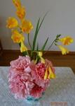 3月最終週 講壇の花