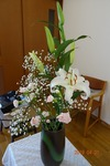 イースター講壇の花