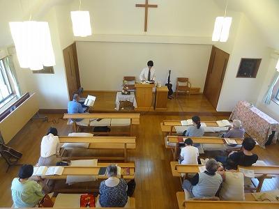 ペンテコステ礼拝