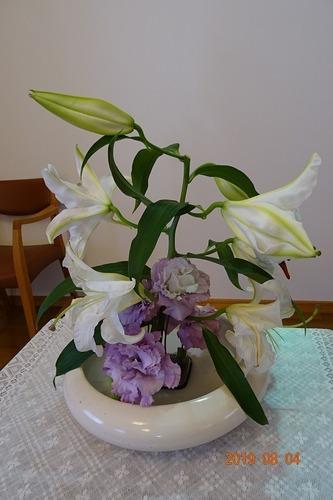 第一週 講壇の花