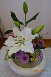 9月第二週 講壇の花