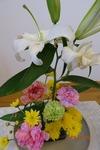 9月29日 講壇の花
