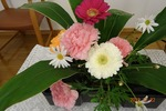 12月22日 講壇の花