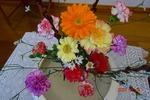 2月講壇の花