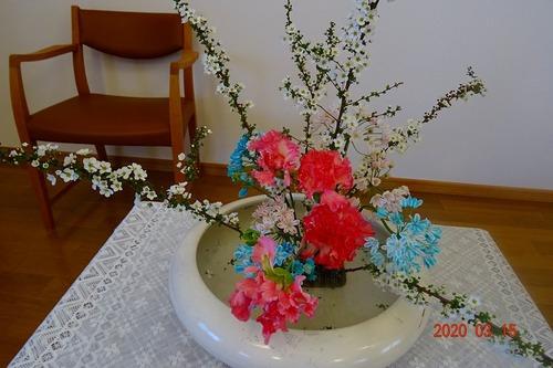 第三週 講壇の花
