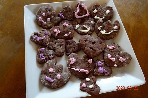 3月交わり会 デザートは子どもの手作りクッキー