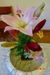 6月7日 講壇の花