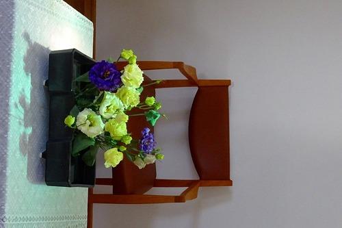 8月16日 講壇の花