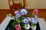 8月最終週 講壇の花