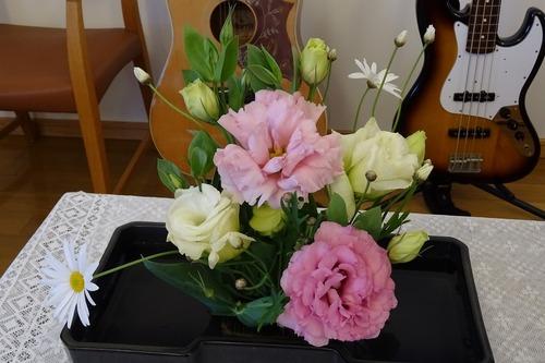 12月27日 講壇の花