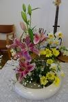1月1日 講壇の花