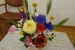 令和3年4月 記念礼拝の花