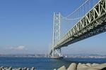5月 明石海峡大橋