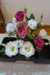 8月15日 講壇の花