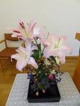 11月初めの講壇の花