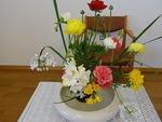 2月28日講壇の花