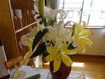 5月第二週 受付の花