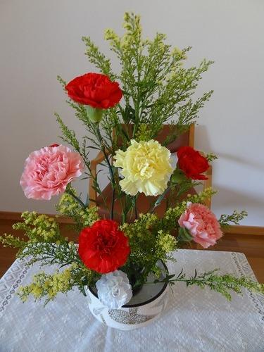 5月第二週 母の日礼拝の花