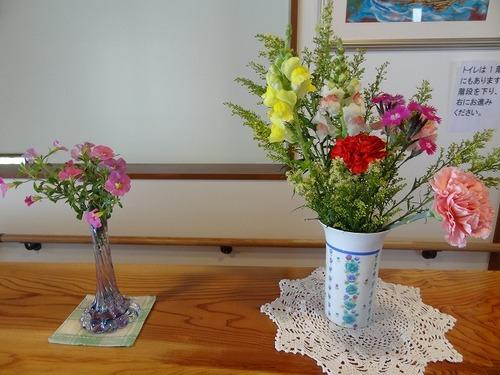 第三週 玄関の花