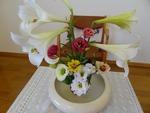 7月 講壇の花