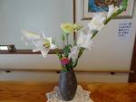 7月 玄関の花