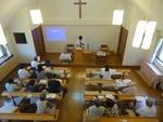 第二週礼拝、聖餐式