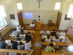 9月25日礼拝 初めての方も参加されました
