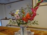 11月第一週 玄関の花