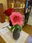 第一週 受付の花