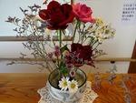 第2週玄関の花