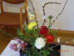 第3週の講壇の花