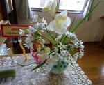 2月末 受付の花