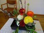 2月26日 講壇の花