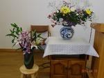 昇天者記念会の花