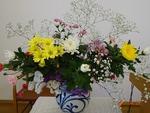 記念会の花 1