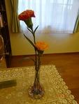 第2週 受付の花