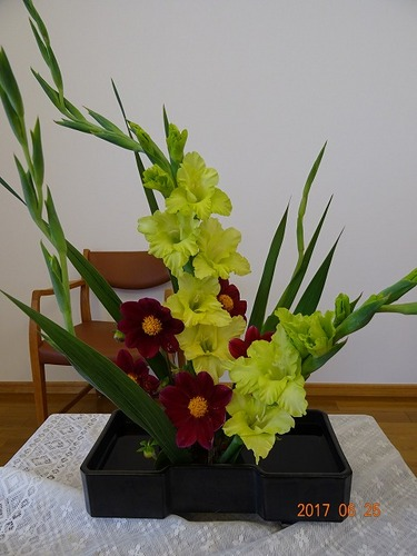 第4週 講壇の花