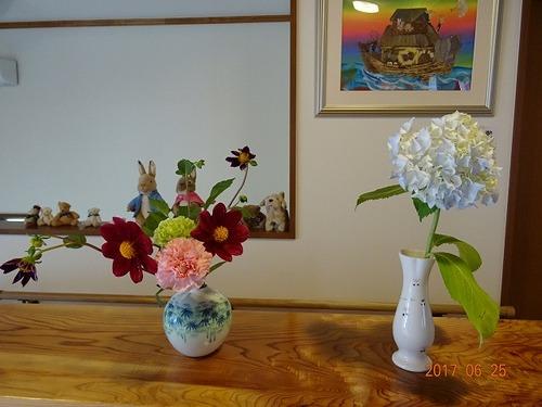 第4週 玄関の花
